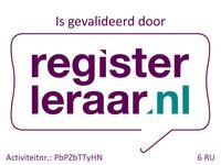 Registerleraar validatie